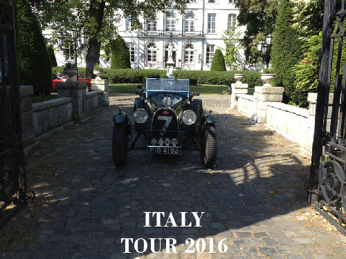 tour Italy 2016